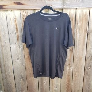 Black Nike Fit Dry Top